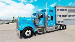Gordon Camiones de la piel para Kenworth W900 tr