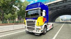 La piel de Red Bull v2.0 camión Scania