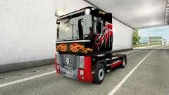 Camionero de la piel para camión Renault