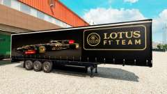 La piel de Lotus F1 para la semi