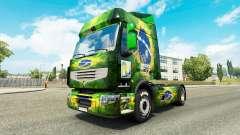 La piel de Brasil 2014 para tractor Renault
