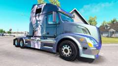 La fantasía de la piel para camiones Volvo VNL 6