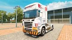CSAD Turnov de la piel para Scania camión