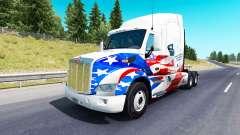 La piel de estados UNIDOS en los Camiones, camió
