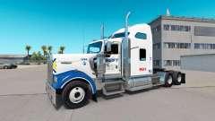 La piel de Swift en el camión Kenworth W900