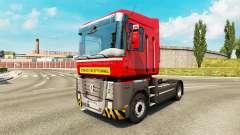 De transporte pesado de la piel para Renault cam