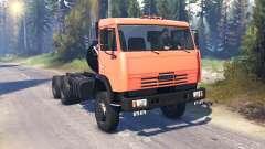 KamAZ-65111 v2.0 para Spin Tires