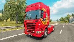 Mezzo Mezcla de la piel para Scania camión