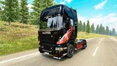 La piel de Coca-Cola tractor Scania