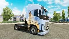 Los sueños de la piel para camiones Volvo