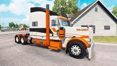 La piel Big Shot en el camión Peterbilt 389