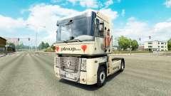 Pinup de la piel para Renault camión
