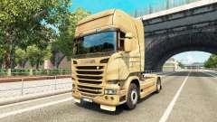 La piel en el 50 Aniversario del tractor Scania
