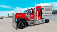 La piel en el Sureste de camión Kenworth W900