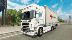 Scania R730 Tandem British Red Cross