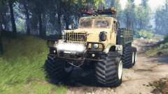 KrAZ-255 [pieza de hierro] v3.0