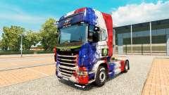 La piel de Copa de Francia 2014 para Scania cami