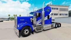 Blanco de la piel del Castillo en el camión Kenw