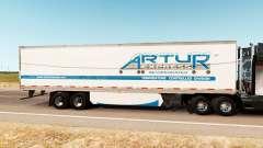 La piel Artur Express en el trailer