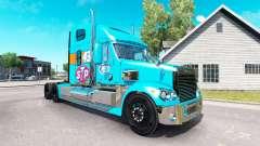 La piel Petty 43 tractor Freightliner Coronado