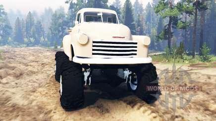 Chevrolet 3100 1951 para Spin Tires