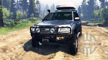 Toyota Land Cruiser 200 2008 v2.0 para Spin Tires