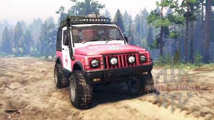 Suzuki SJ 410 para Spin Tires