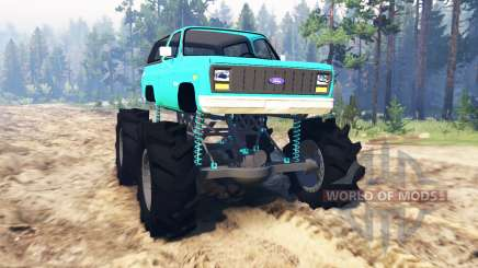 Ford Bronco 1984 para Spin Tires