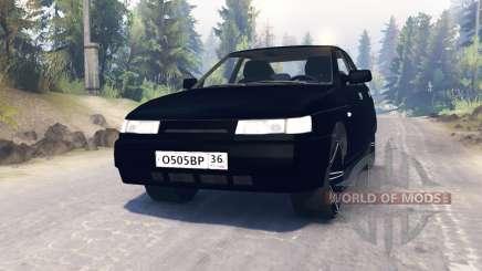 VAZ-2112 para Spin Tires