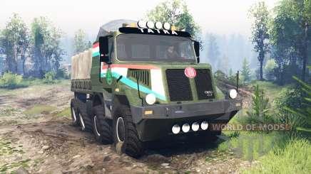 Tatra 163 Jamal 8x8 v6.0 para Spin Tires