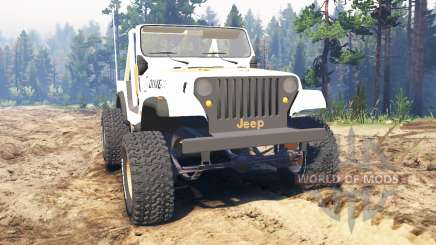 Jeep CJ-7 Renegade [Dixie] para Spin Tires