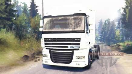 DAF XF105 para Spin Tires