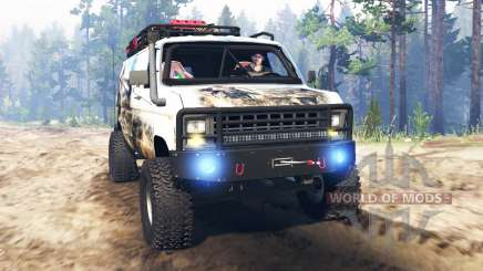 Ford E-350 [econoline safari] para Spin Tires