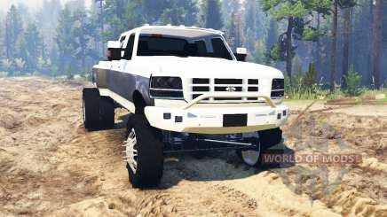 Ford F-350 OBS Dually 1994 para Spin Tires