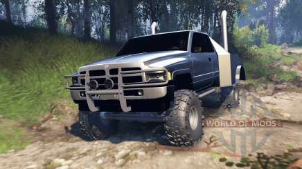Dodge Ram v2.0 para Spin Tires