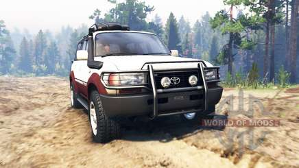 Toyota Land Cruiser 80 VX 1990 para Spin Tires