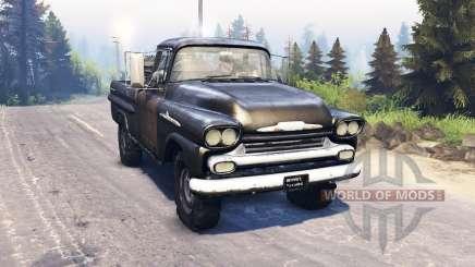 Chevrolet Apache 1959 v3.0 para Spin Tires