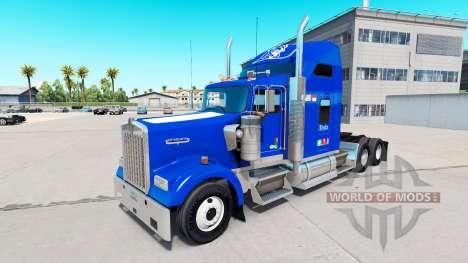 La piel de Duke v1.03 en el camión Kenworth W900 para American Truck Simulator