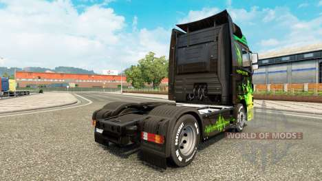 La piel del Monstruo de camiones de Mercedes-Ben para Euro Truck Simulator 2