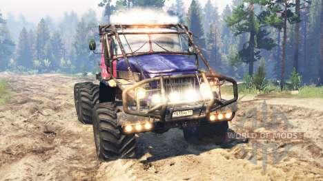Ural-375 Juicio v2.0 para Spin Tires