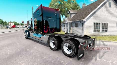 La piel de Guns N Roses en el camión Freightline para American Truck Simulator