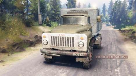 GAZ-53 v2.0 para Spin Tires