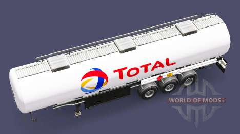 Combustible semi-remolque Total para Euro Truck Simulator 2
