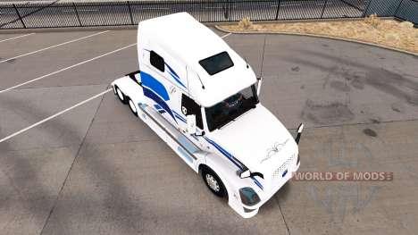 La piel de Estreno para camiones Volvo VNL 670 para American Truck Simulator