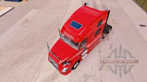 Volvo VNL 670 v2.0 para American Truck Simulator