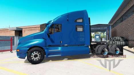 Kenworth T2000 v1.2 para American Truck Simulator