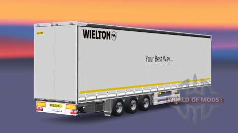 Semitrailer Wielton Your Best Way para Euro Truck Simulator 2