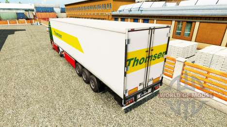 Thomsen la piel para el remolque para Euro Truck Simulator 2