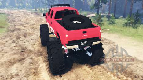 Ford F-350 [monster edition] para Spin Tires