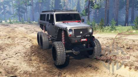Jeep Wrangler 6x6 [crawler] para Spin Tires